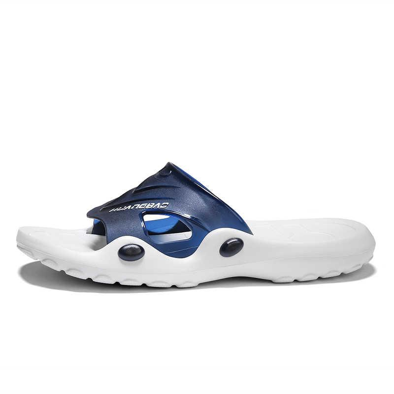 รองเท้าแตะชายรองเท้าฤดูร้อนรองเท้าแตะชายหาดรองเท้าแตะแฟชั่นรองเท้าแตะ Non-SLIP Flip Flops
