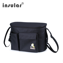 Insular Baby Diaper Bag for Stroller Bags Organizer Large Capacity Travel Mommy Nappy Maternity Changing Bag