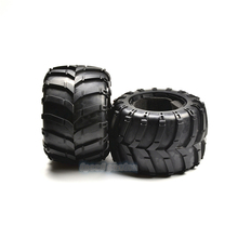 HSP Brand New 50218-New Tires+Insert Sponge Complete Set High Speed RC Off Road Car Spare Parts Wheel For 1/5 Scale Monster