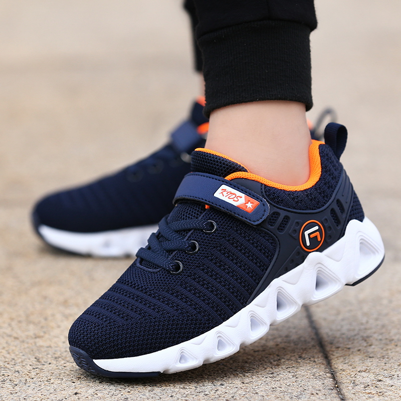 2020 Autumn Children Shoes Fashion Brand Outdoor Kids Sneakers Boy Running Shoes Casual Breathable Boys Girls Sports Shoes 891