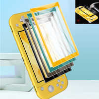 Película protectora de vidrio templado para Nintendo Switch Lite, Protector completo de pantalla táctil, accesorios