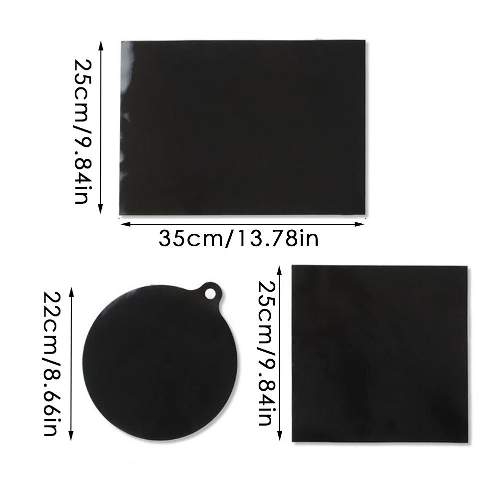 Induction Cooktop Mat Protector Nonslip Silicone Heat Insulation Pad Cook Top Cover Reusable Hot Kitchen Accessories Gadget