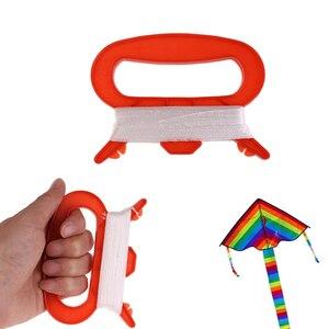 30/50/100 м D Красная форма кайт линия тонкий кайт нить намотки ручка Спорт на открытом воздухе детей Кайт аксессуары игрушки для детей Подарки