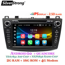 SilverStrong 4G Modem Android 10,0 Auto DVD Für Mazda 3 Axela 4G SIM Auto Multimedia Mazda 3 Bluetooth 4,0 WIFI Option TPMS(Hong Kong,China)