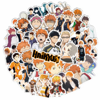 Random 50pcs/set Japan Anime Cartoon Props Haikyuu!! Hinata Shoyo Kage