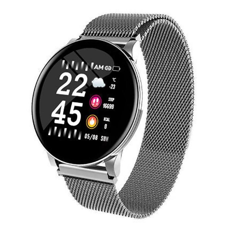 Smart Watch Men Women Heart Rate Monitor Weather Forecast Fitness Bracelet Blood Oxygen Pressure Sport Smart Band