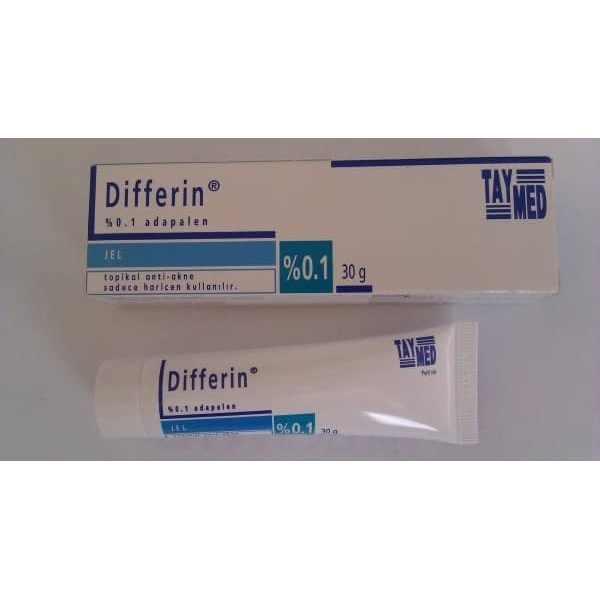 Differin Adapalene Gel 0 1 Acne Treatment 30g 1oz Strength
