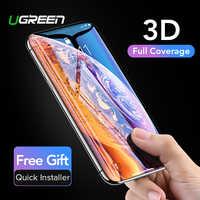 Ugreen Verre Protecteur sur l'iphone 7 6 8 plus 11 Pro Max X 10 XS Max XR 3D Hydrogel Protecteur Plein Écran En Verre