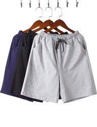 Estate bicchierini casuali degli uomini di cotone a cinque punte pantaloni sottile allentato di grandi dimensioni k229k-01-08
