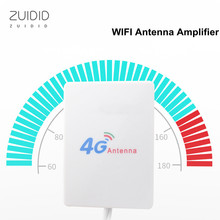 ZUIDID 3G% 2F4G% 2FLTE Router Anetnna TS9 Connector 10DBI Wifi Signal Amplifier Lightweight Easy To Install