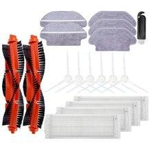 Quente!-hepa filtro rolo rotação escova mop pano para xiaomi lds/styj02ym/conga 3490 viomi v2 pro v3 robô aspirador de pó