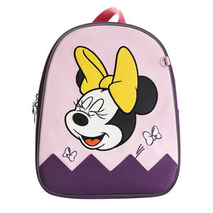 Disney Backpack Schoolbag Baby-Walker Toddler Cartoon Anti-Lost for Gifts Leashes Link