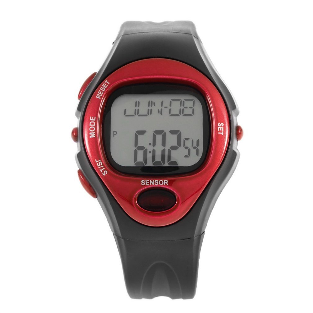 Men Women Pulse Heart Rate Monitor Calories Counter Fitness Watch Time Stop Watch Alarm Digital Watch Reloj Wholesale Drop Ship