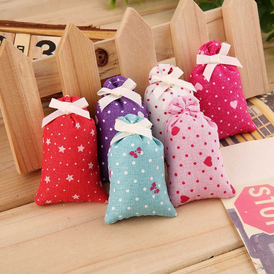 2017 Natural Plant Mothproof Fragrance Sachet Bag Car Wardrobe Incense  Sachet 6g