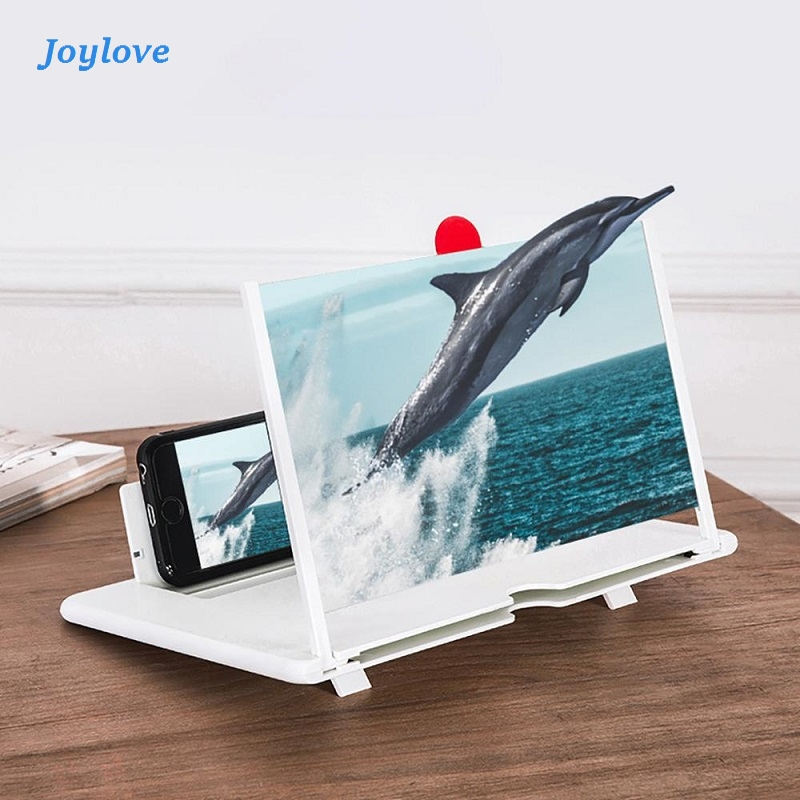 JOYLOVE 12inch 3D Phone Screen MagnifierDesign HD Video Magnifying Glass Watch 3d Movies Smart Phone Bracket Holder Dropshipping