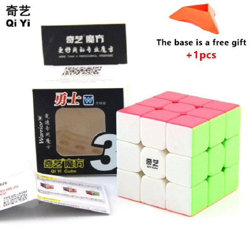 QiYi 5.7CM Cube 3x3x3 Speed For Rubic Puzzle Magic Toy Antistress Cube Neo Cubo Magico Sticker Rubix For Children Education