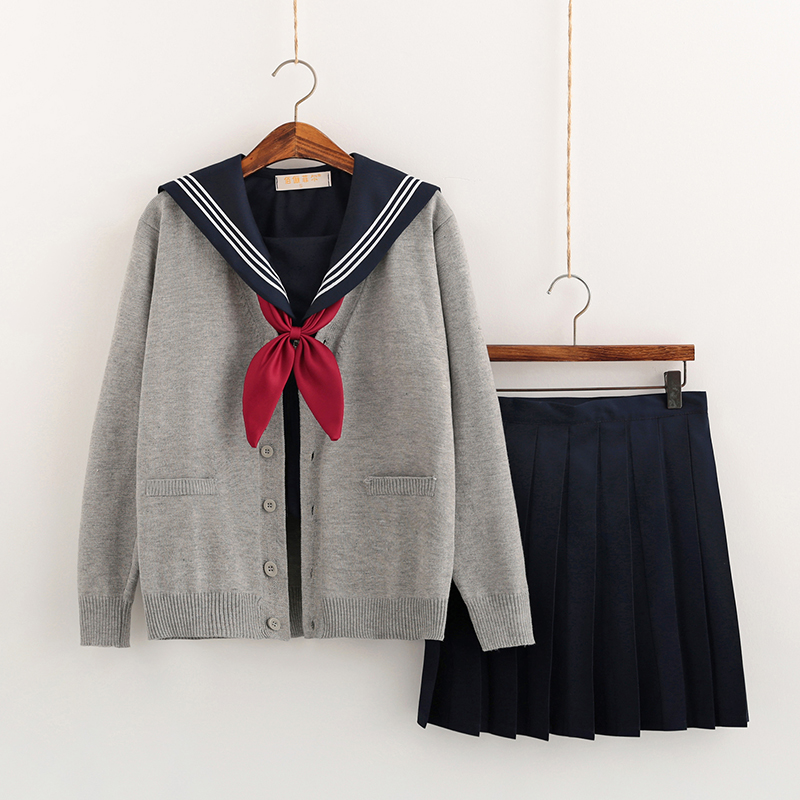 Japanese School Uniforms Anime COS Sailor Suit JK Navy Style Students Clothes For Girl