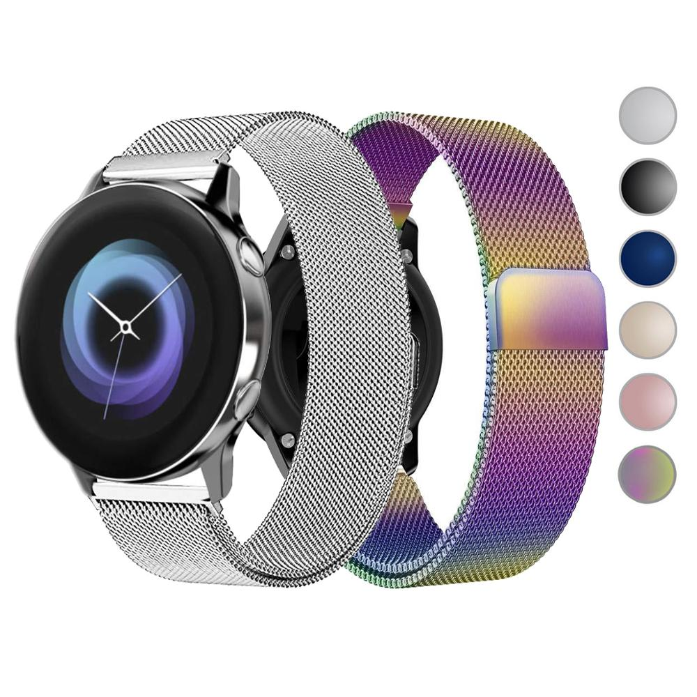 2020 <font><b>Smart</b></font> <font><b>Watch</b></font> Strap for <font><b>Samsung</b></font> Galaxy <font><b>Watch</b></font> Gear S3 S2 42mm <font><b>46mm</b></font> <font><b>Watch</b></font> Band 20mm 22mm Strap for Amazfit Bip <font><b>Smart</b></font> <font><b>Bracelet</b></font> image