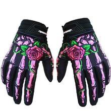 Skull Cycling Gloves Full Finger Silica Gel MTB Bike Gloves Outdoor Sport Bicycle Motocycle Gloves guantes ciclismo spakct cycling gloves men s gloves winter full finger mtb bike bicycle guantes ciclismo windproof outdoor sport gloves sharp new