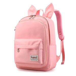 2020 nowe śliczne uszy tornistry plecak torba dla dziewczynek torby szkolne plecak kobiety torba podróżna plecak Mochilas