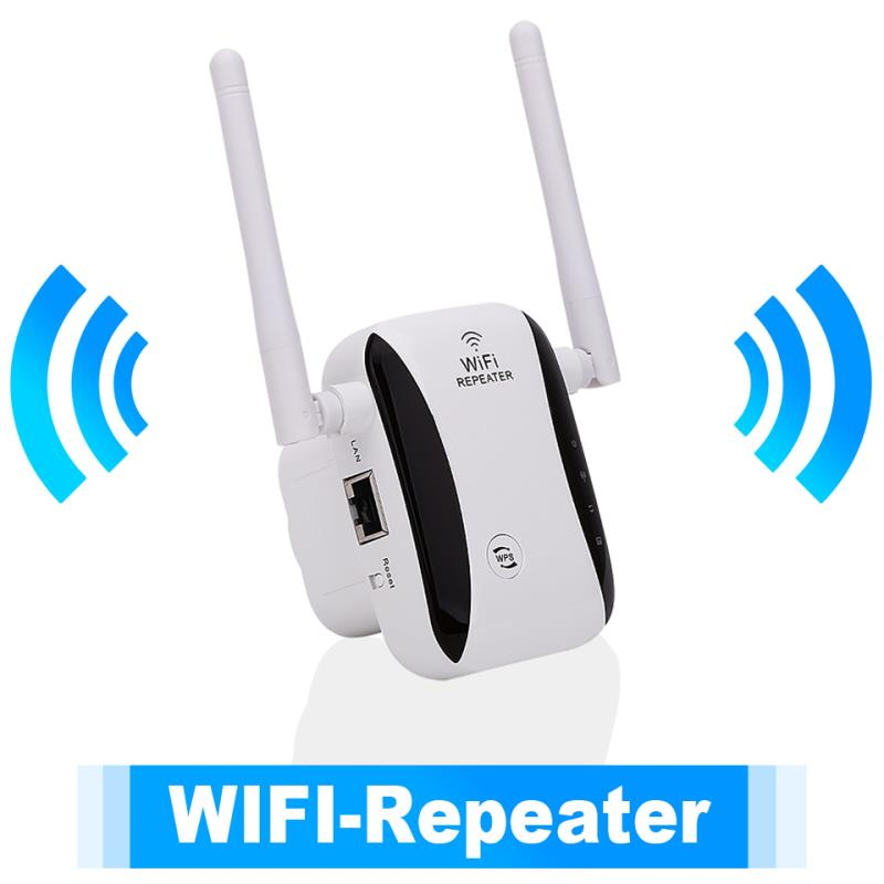 KP300 New 300Mbps WiFi Repeater Range Extender Booster With free Plug Antennas 5