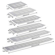 Мульти размер алюминий сплав воздух вентиляция перфорированный лист паутина пластина вентиляция решетка