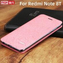 case for xiaomi redmi note 8t case 8 t leather mofi Redmi Note 8T Cover original redmi note8t case stand back silicon coque men