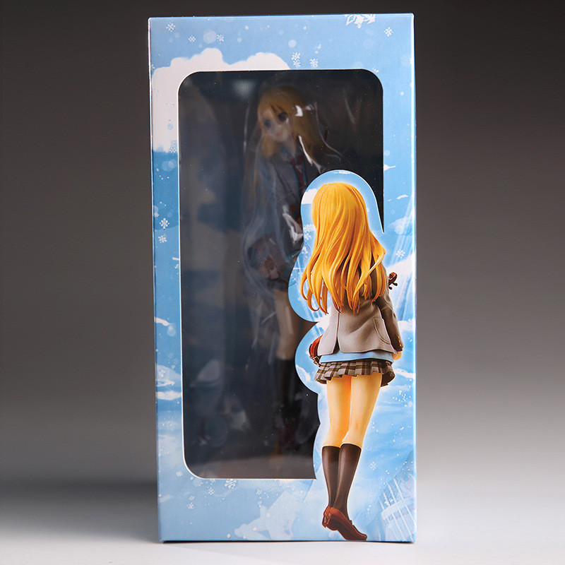 action figure your lie in april kaori miyazono cartoon doll PVC 20cm box-packed japanese figurine world anime