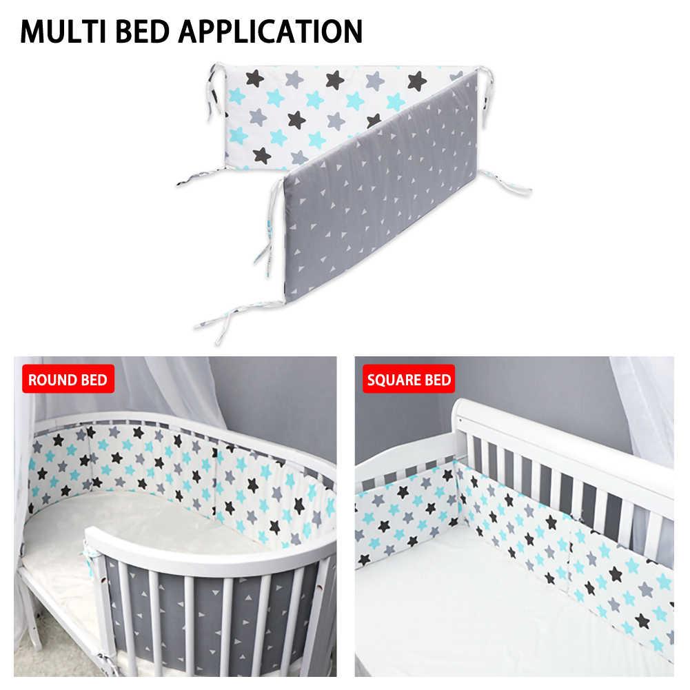 เตียงเด็กกันชน Little Crib ป้องกันทารกแรกเกิดเครื่องนอนผ้าฝ้ายปลอดภัยกันชนป้องกันเด็กความปลอดภัย