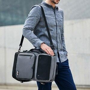 Image 3 - Iş sırt çantası erkek Su Geçirmez Oxford Crossbody Çanta 17 inç Bilgisayar Dizüstü Bilgisayar Çantası Açık Dayanıklı seyahat sırt çantaları XA277ZC