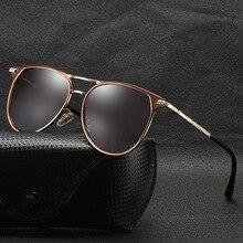 Мужские поляризованные солнцезащитные очки для вождения классические винтажные очки