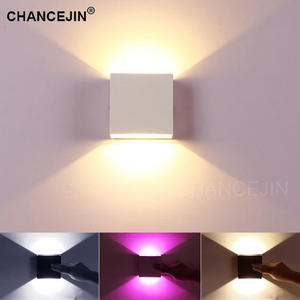 Decorative Wall-Lamp Light-Input Ambient Colors Up/Down Modern White/warm Simple-Style
