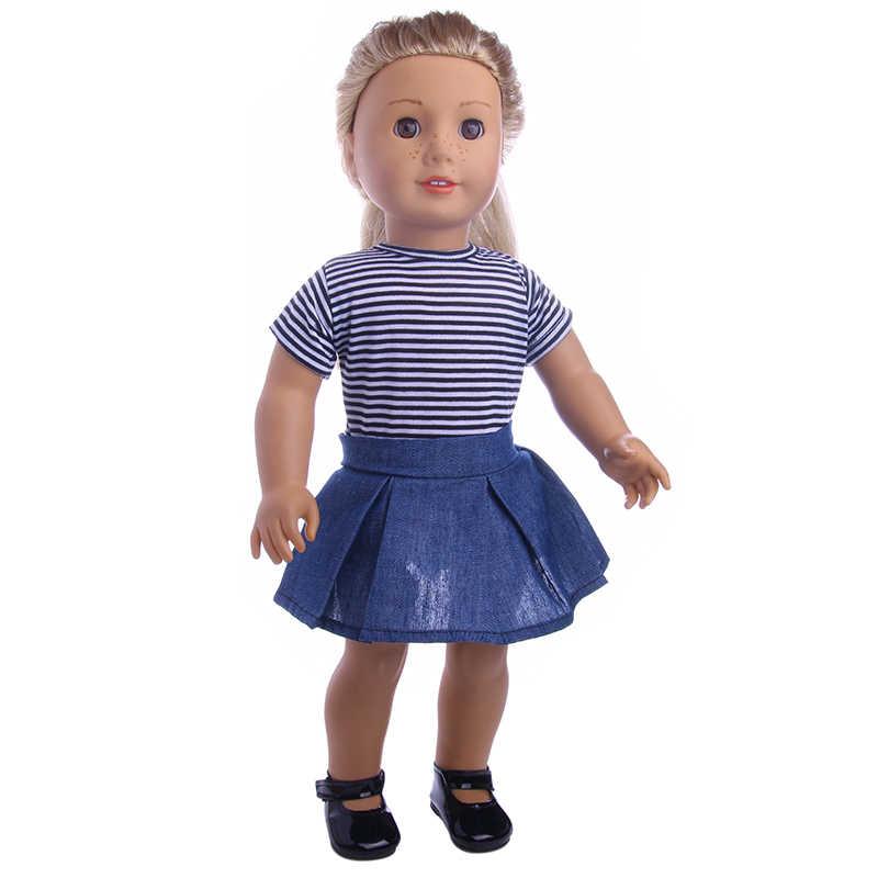 LUCKDOLL مختلف نمط مجموعات صالح 18 بوصة الأمريكية 43 سنتيمتر الطفل ملابس دمى الاكسسوارات ، الفتيات اللعب ، الجيل ، هدية عيد ميلاد