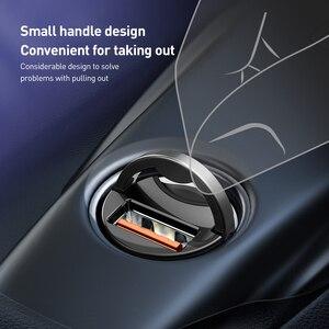 Image 3 - Автомобильное зарядное устройство Baseus для iPhone 11 Pro Max Huawei P30 QC4.0 QC3.0 QC 5A