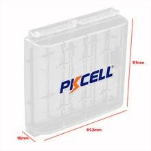 1 шт батарейки pkcell держатель чехол Пластиковые Переносные