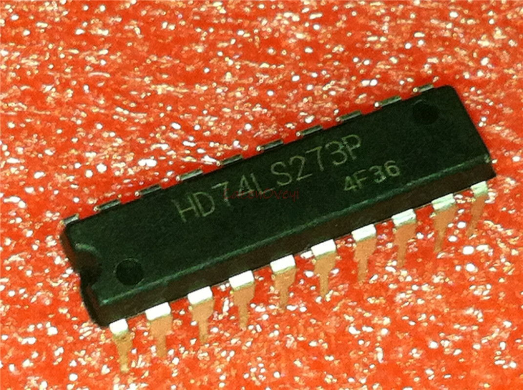 10pcs/lot SN74LS273N HD74LS273P 74LS273 DIP-20 New Original In Stock