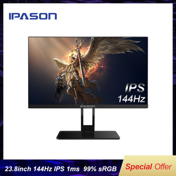 IPASON QP230I Little King Kong 144Hz Monitor 23.8 inch IPS Gaming Screen 1ms Response Desktop Computer LCD HD PS4 Game  PUBG