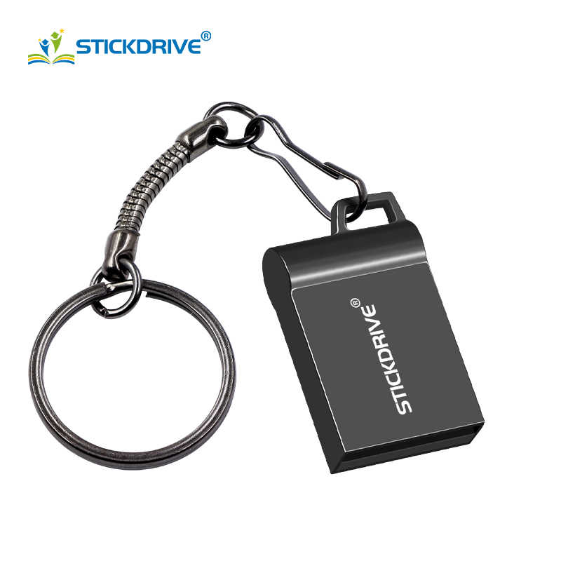 Ad alta velocità USB flash drive 32GB 16GB metallo pendrive 64GB 128GB super mini pendrive USB 2.0 piccolo bastone di memoria U Disk cle usb