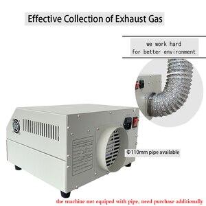 Image 4 - Puhui T962 800W équipement de reflux T962 four de reflux infrarouge IC chauffage BGA SMD SMT Station de reprise