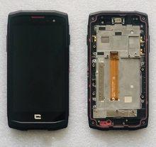 Darmowa wysyłka testowane dostępne dla Crosscall Trekker X3 wyświetlacz LCD dotykowy z montaż digitazera ekranu podwójnego wyboru