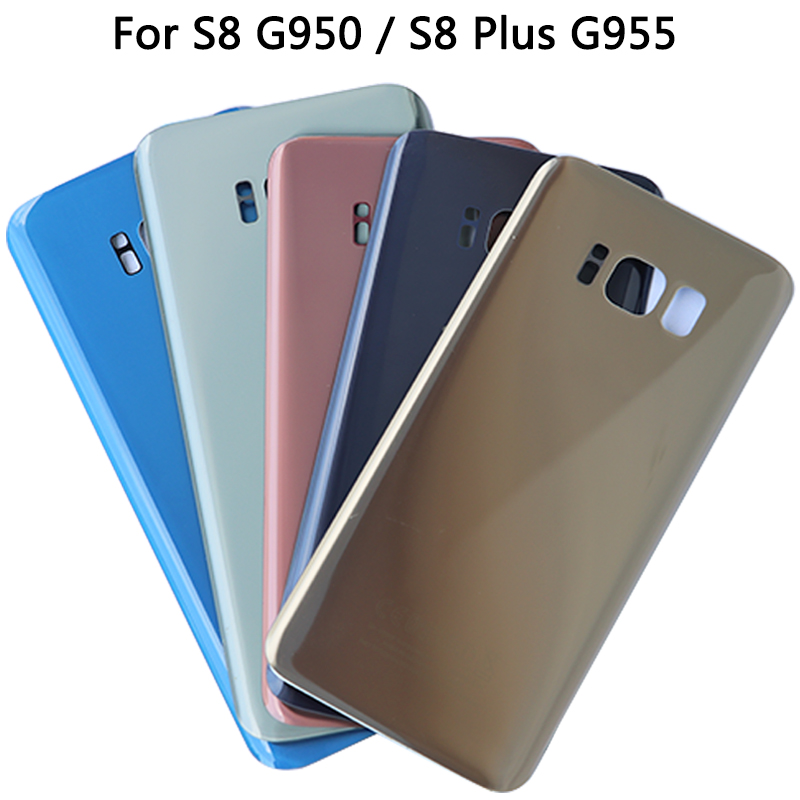 Original S8 Battery Cover For Samsung Galaxy S8 G950 / G955 S8 Plus Back Cover Door Housing Replacement Repair Parts