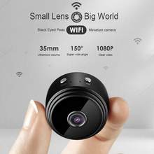Mini Camera WIFI Small Camera Wireless HD 1080P Camera Built-in battery with Motion Detection Night Vision For iPhone/Android/PC(China)