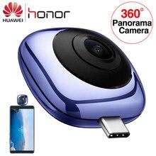 Original Huawei 360 Panoramic กล้องเลนส์ Envizion HD 3D Live Motion กล้อง 360 องศากว้างมุมโทรศัพท์มือถือ Android ภายนอก