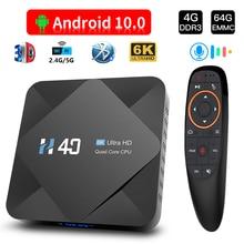Tv-Box Allwinner H616 HONGTOP Android Dual-Wifi 5G 6k 64GB Ce Voice-Assistant Quad-Core