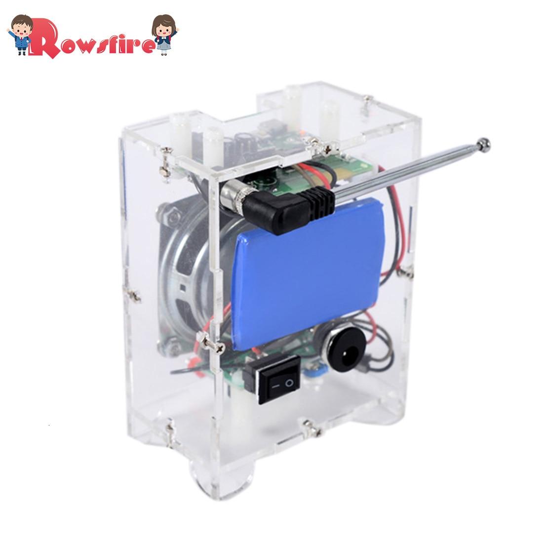 DIY Mini Speaker Kit MP3 Small Speaker Sound Amplifier With Remote Control - Ordinary Version