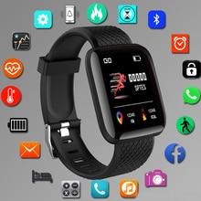 Smartwatch esportivo digital, relógio de pulso eletrônico com led, bluetooth, fitness, feminino e infantil