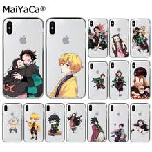 Чехол для телефона MaiYaCa Kamado Nezuko Kimetsu, no Yaiba Demon Slayer, для iphone SE 2020, 11 pro, XS MAX, 8, 7, 6, 6S Plus, X, 5, 6, 7, 6, 7, 6, 7, 6, X, 7, 7, SE, XR(Китай)