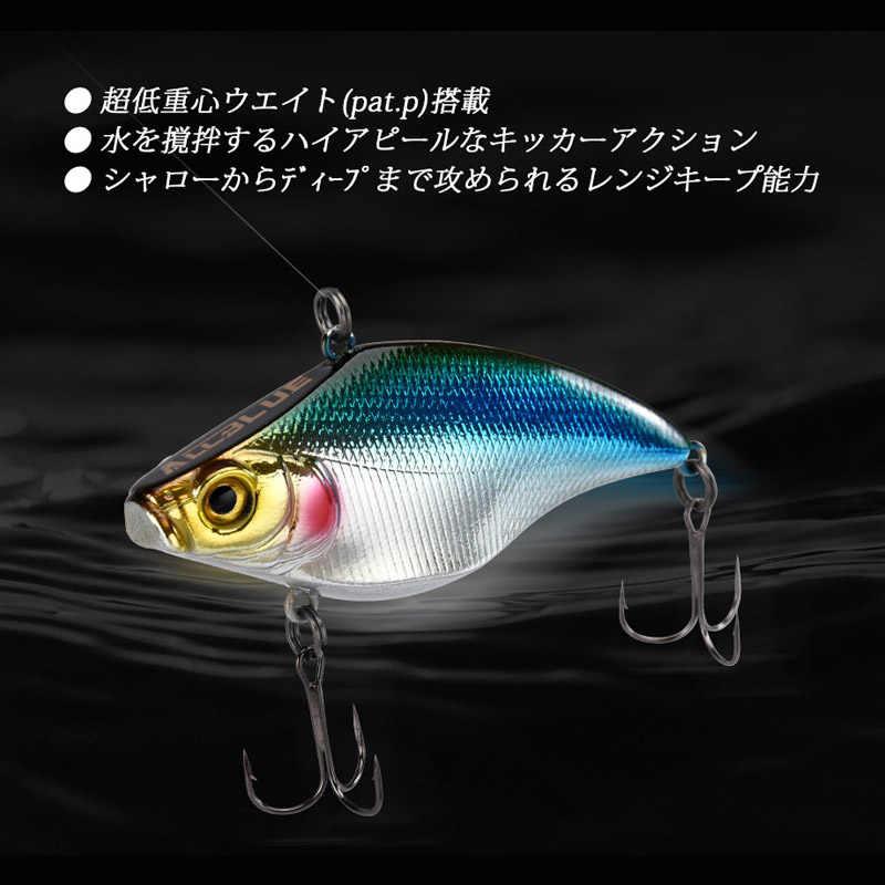 ALLBLUE VIBRATION-X Sinking VIB Fishing Lure Crankbait เหยื่อ Hard ประดิษฐ์ความลึกทั้งหมดฤดูหนาว PIKE Bass Fishing Tackle