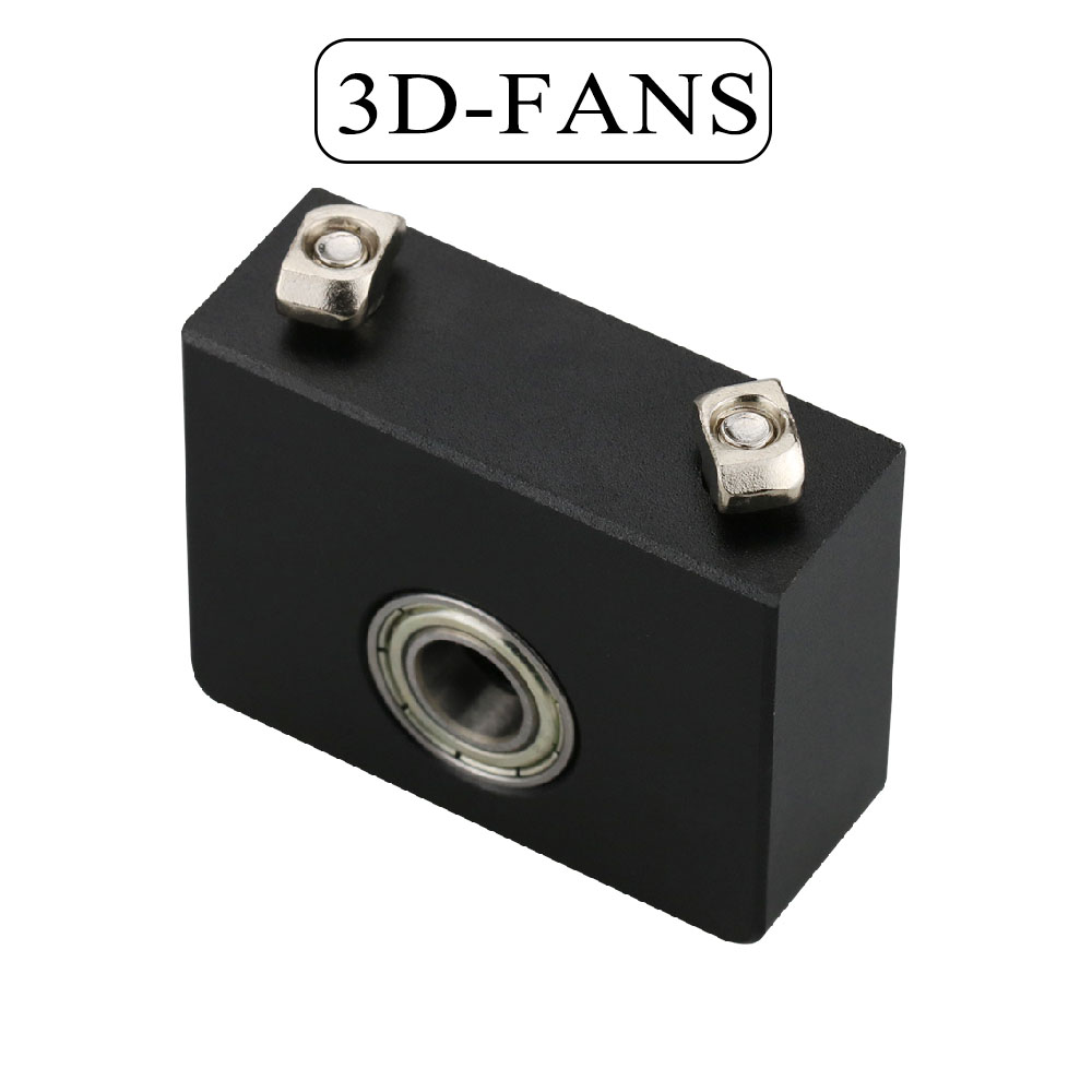 <font><b>3D</b></font> Printer Parts Aluminum Z-Axis Leadscrew Top Mount For Tornado <font><b>Creality</b></font> CR-10 <font><b>ENDER</b></font> <font><b>3</b></font> <font><b>Ender</b></font> <font><b>3</b></font> <font><b>Pro</b></font> Metal Z-Rod Bearing Holder image