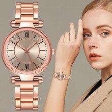 Luxury Women's watch Stainless Steel Quartz Watches